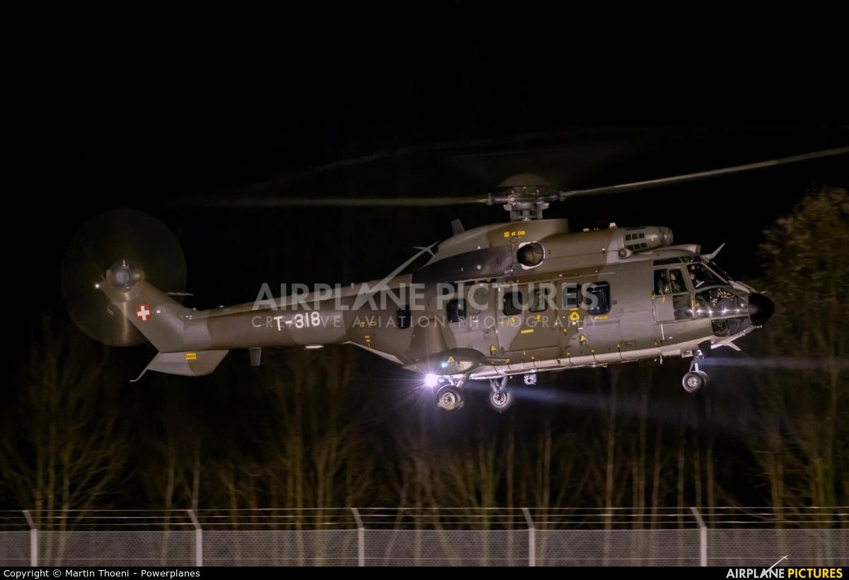 Switzerland - Air Force T-318 aircraft at Alpnach