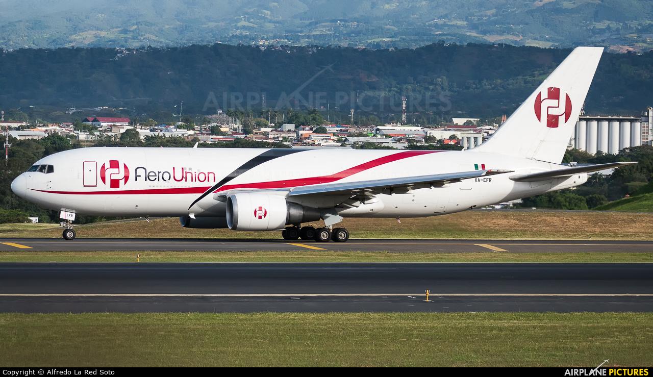 Aero Union XA-EFR aircraft at San Jose - Juan Santamaría Intl