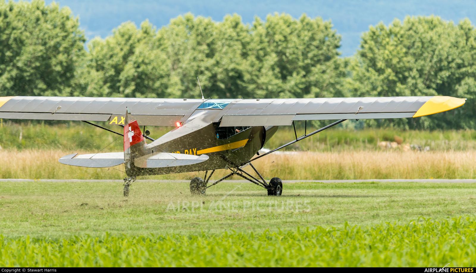 Private HB-PAX aircraft at Yverdon-les-Bains