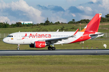 N741AV - Avianca Airbus A319