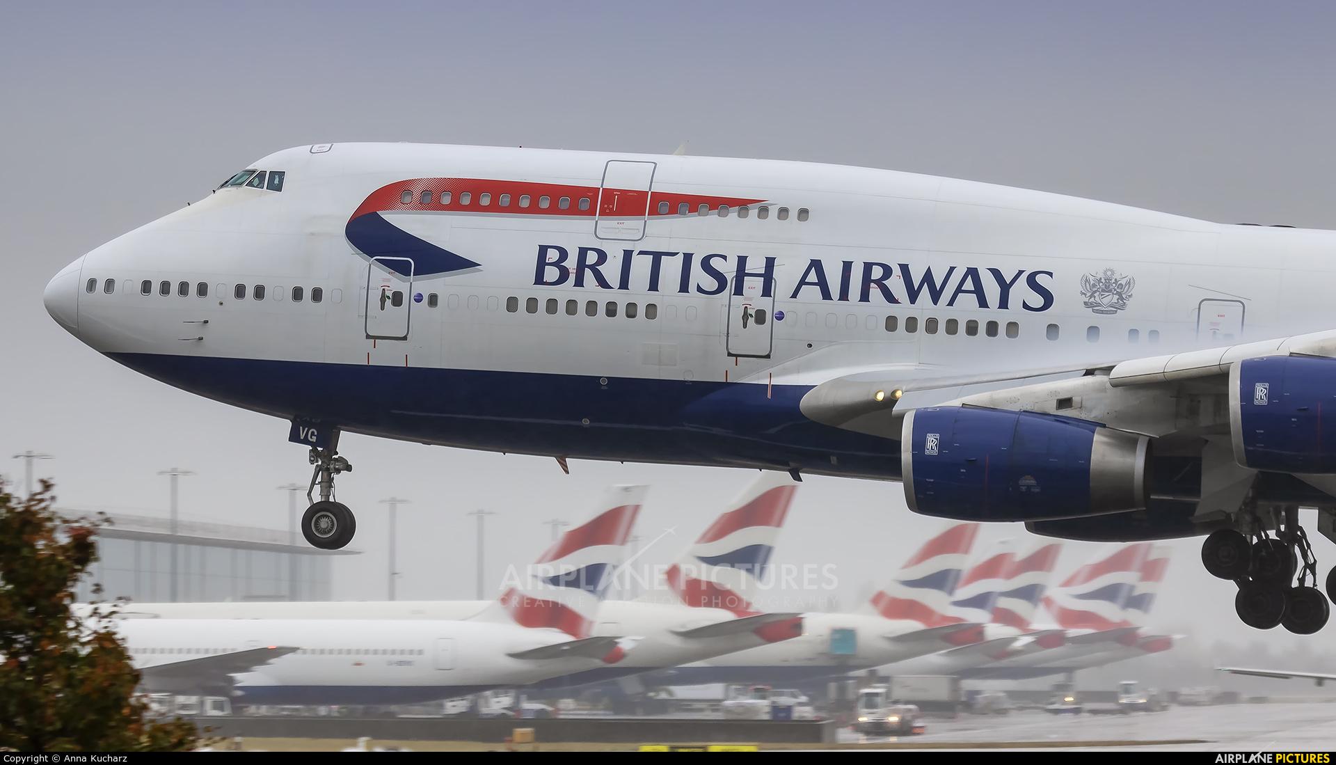 British Airways G-CIVG aircraft at London - Heathrow