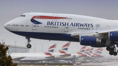 G-CIVG - British Airways Boeing 747-400