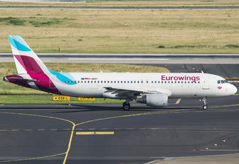 D-ABNT - Eurowings Airbus A320