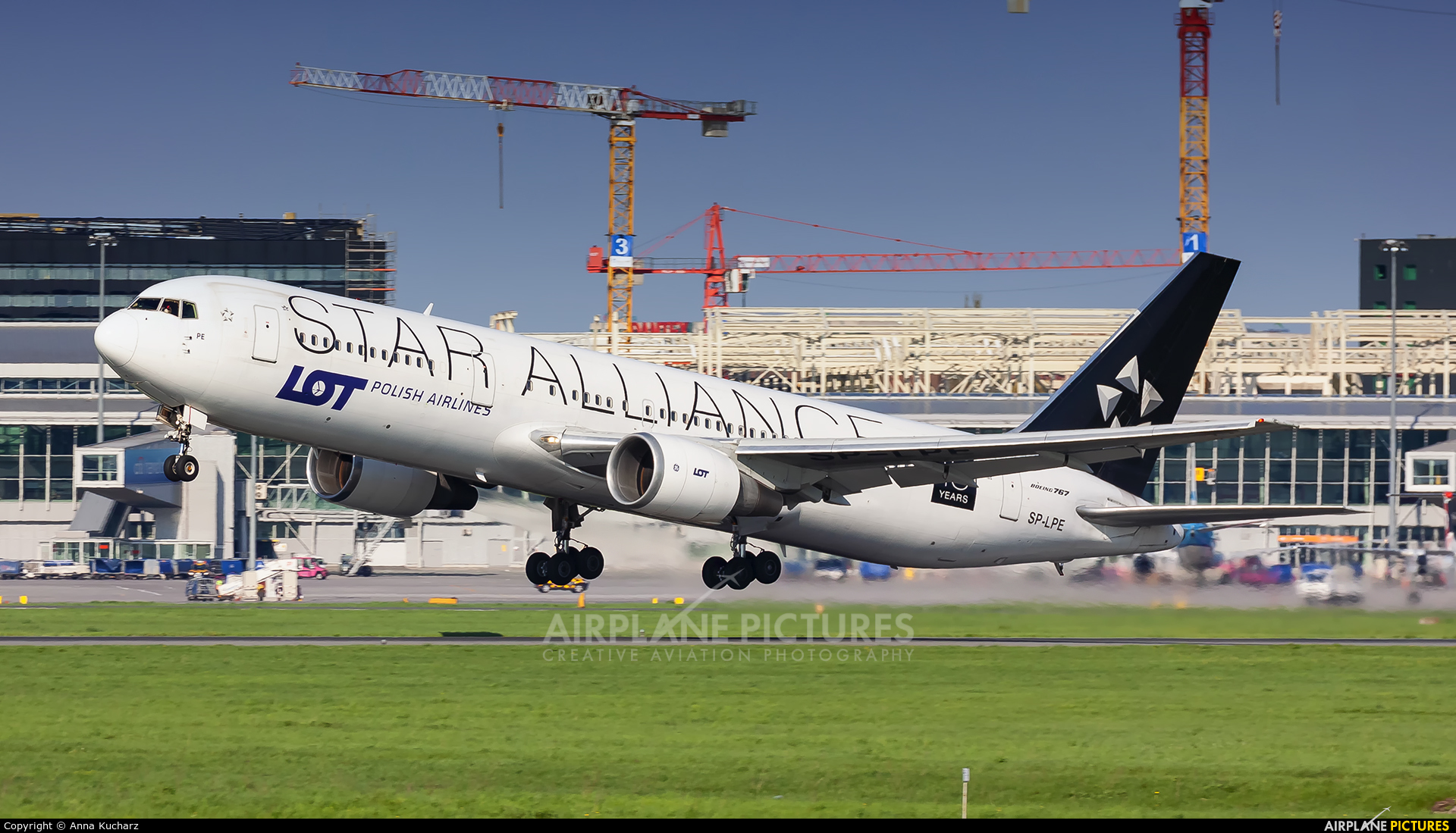 LOT - Polish Airlines SP-LPE aircraft at Warsaw - Frederic Chopin