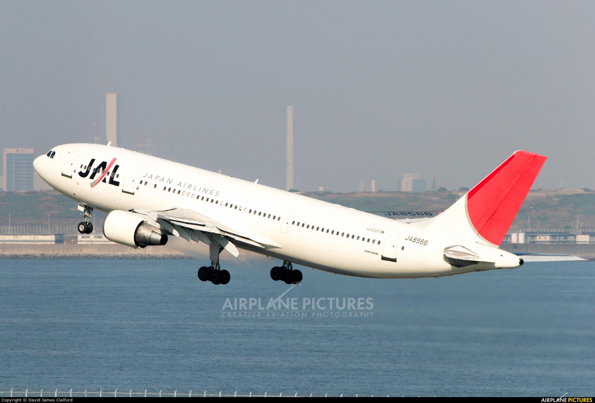 JAL - Japan Airlines JA8566 aircraft at Tokyo - Haneda Intl