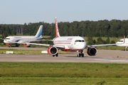 Air India A320neo at Moscow Domodedovo title=