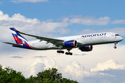A350 of Aeroflot visited Rome  title=