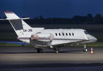 5N-JMB - Airk Air Hawker Beechcraft 800XP