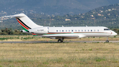EJ-SAID - Gainjet Bombardier BD-700 Global 5000