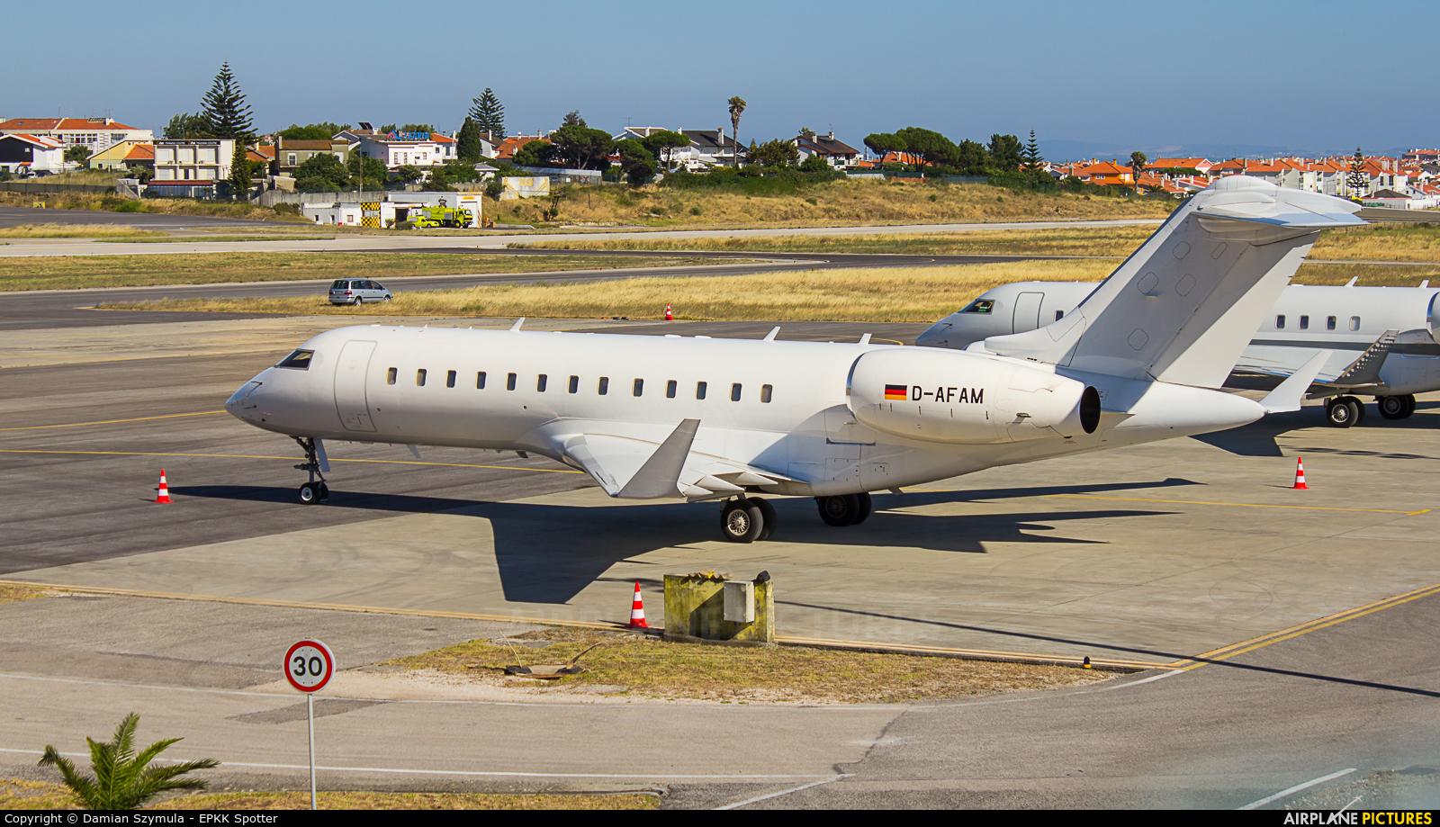 FAI Rent-A-Jet D-AFAM aircraft at Cascais