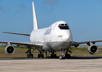 4L-GEO - The Cargo Airlines Boeing 747-200SF