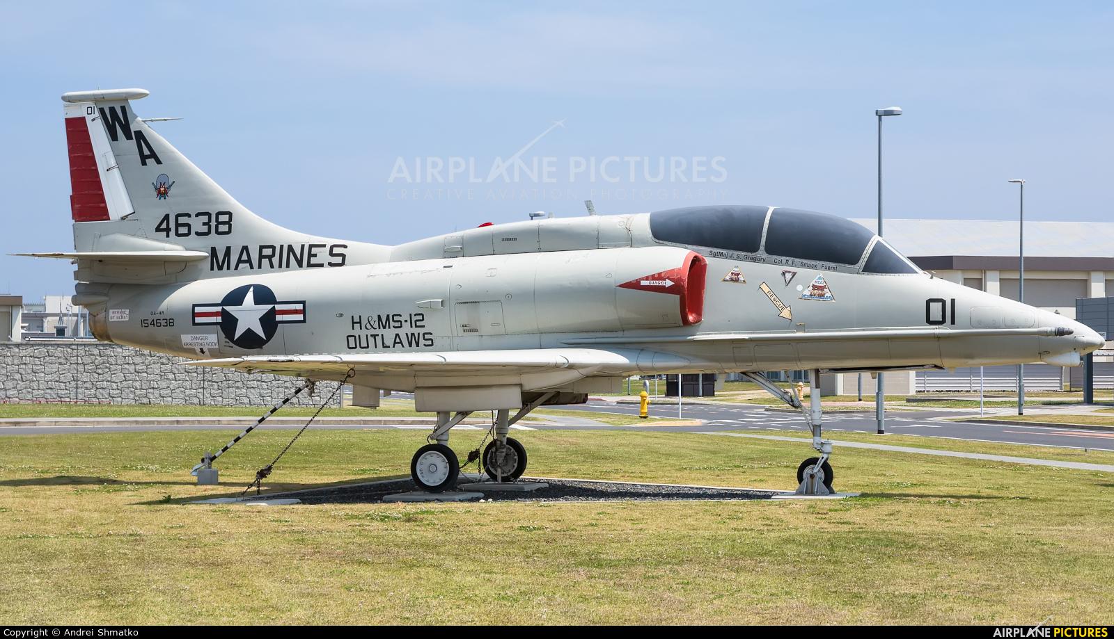 USA - Marine Corps 154638 aircraft at Iwakuni MCAS