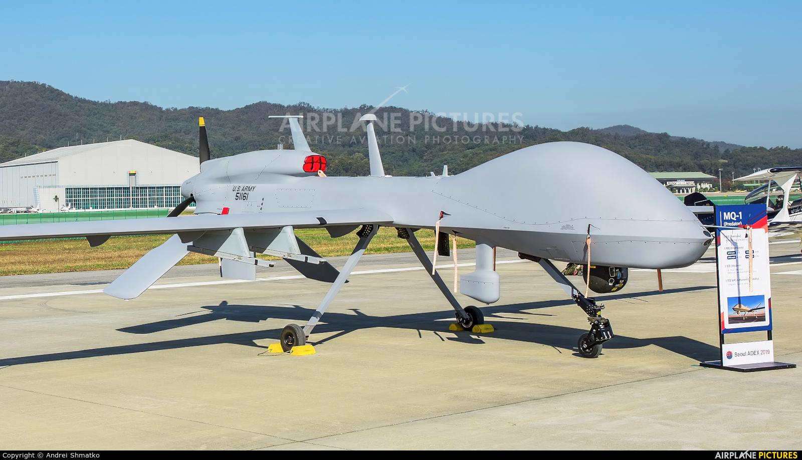 USA - Army 51161 aircraft at Seongnam AB