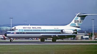 OH-LYB - British Midland Douglas DC-9