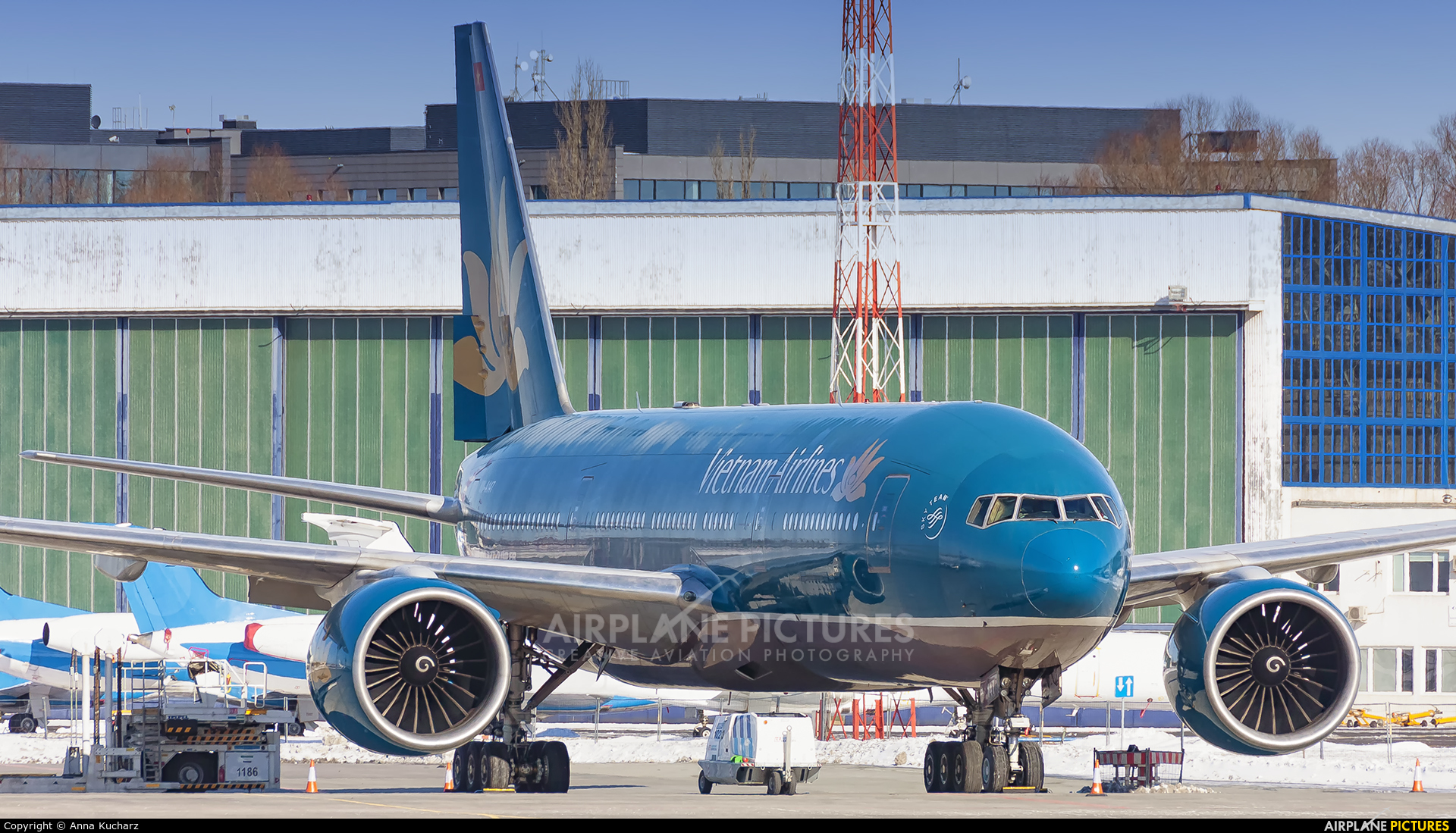 Vietnam Airlines VN-A147 aircraft at Warsaw - Frederic Chopin