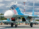 RF-33757 - Russia - Navy Sukhoi Su-27UB aircraft