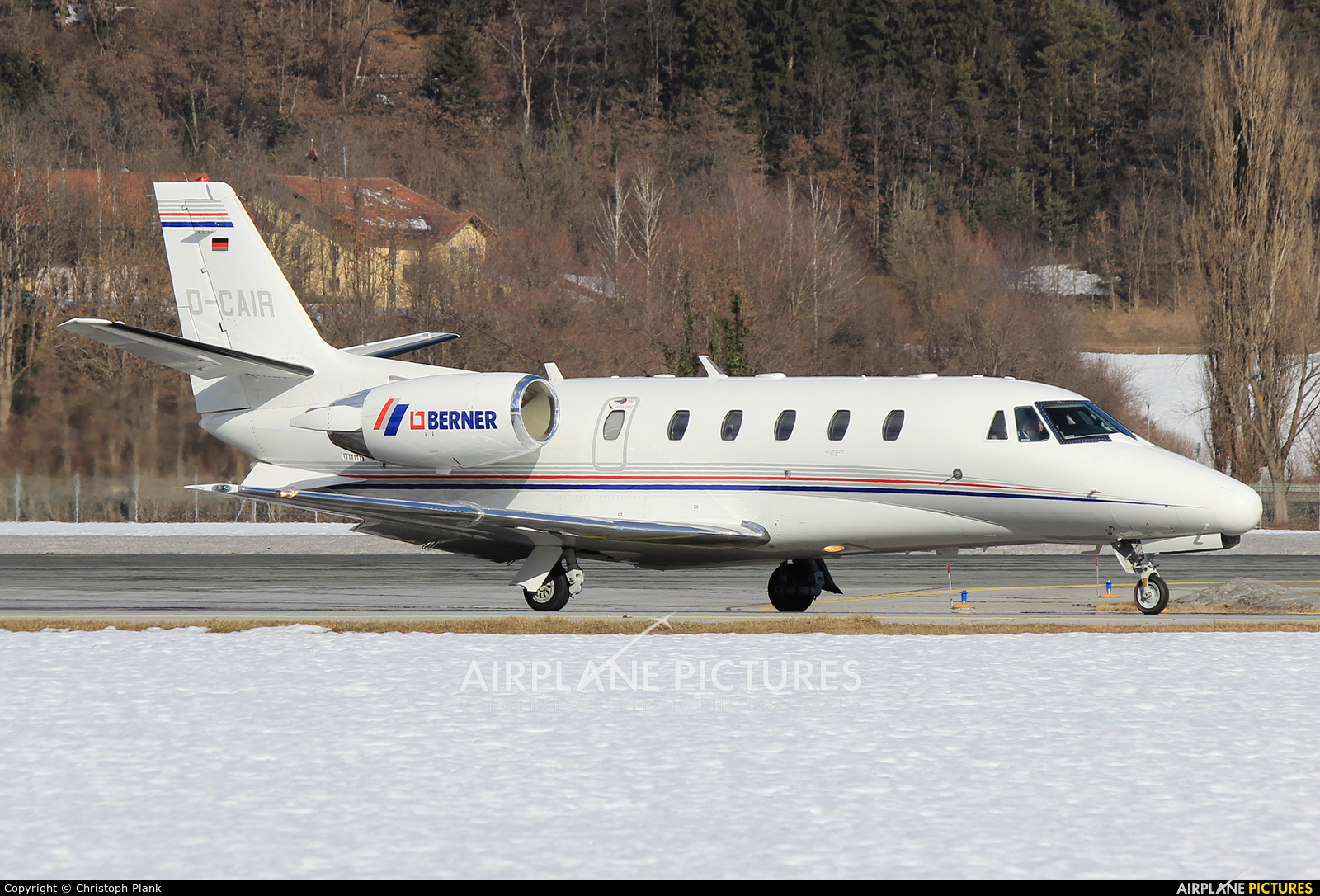 Private D-CAIR aircraft at Innsbruck