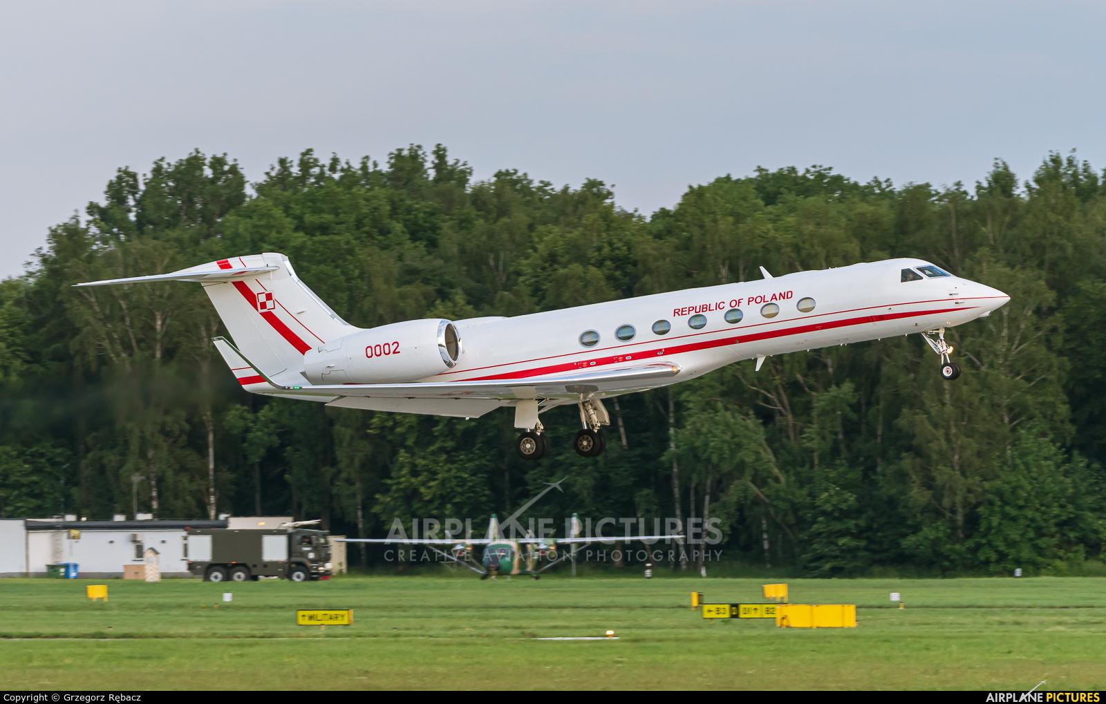 Poland - Air Force 0002 aircraft at Kraków - John Paul II Intl