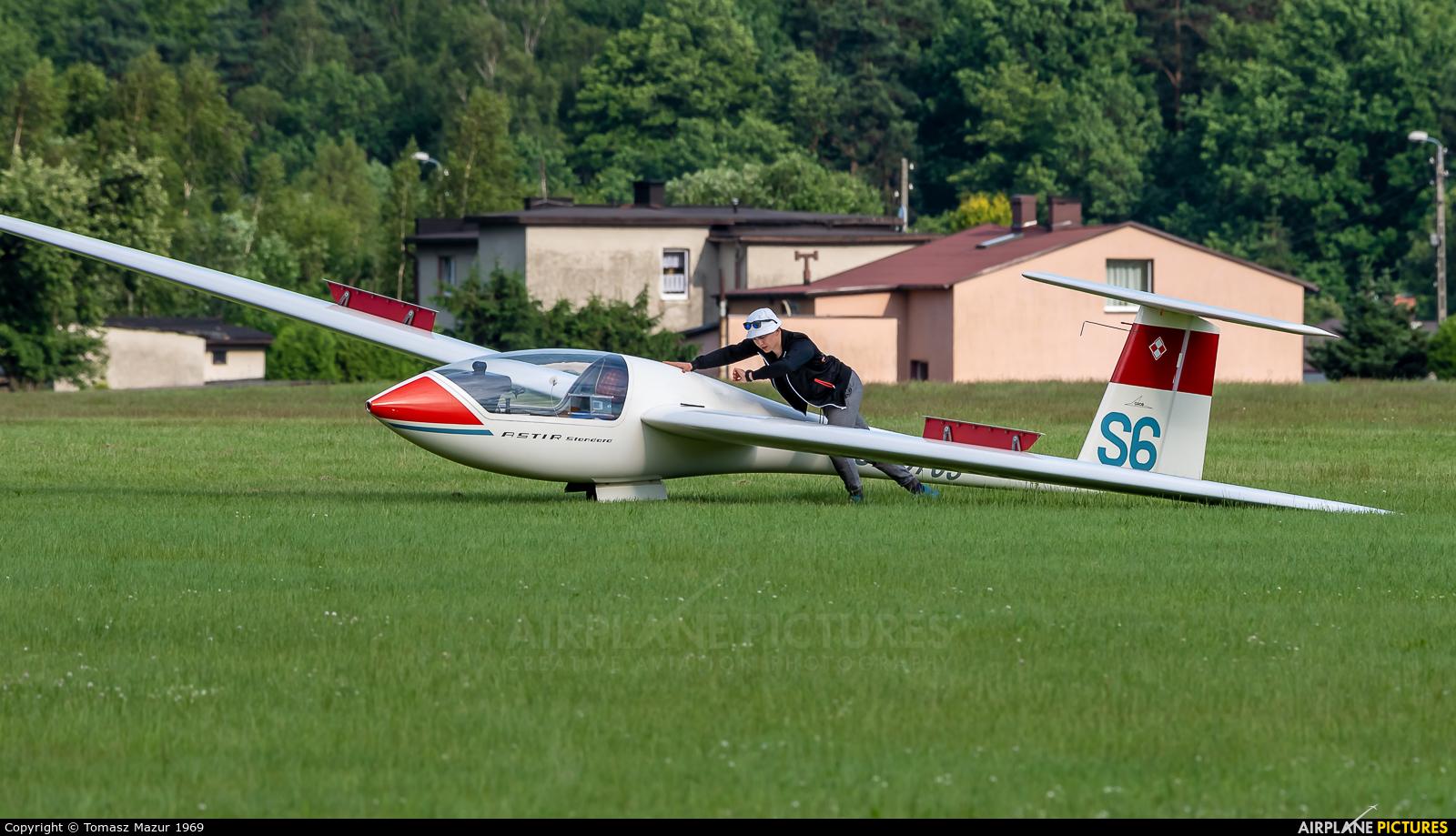 Aeroclub ROW SP-3703 aircraft at Rybnik - Gotartowice