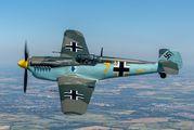 G-AWHM - Air Leasing Ltd Hispano Aviación HA-1112 Buchon aircraft