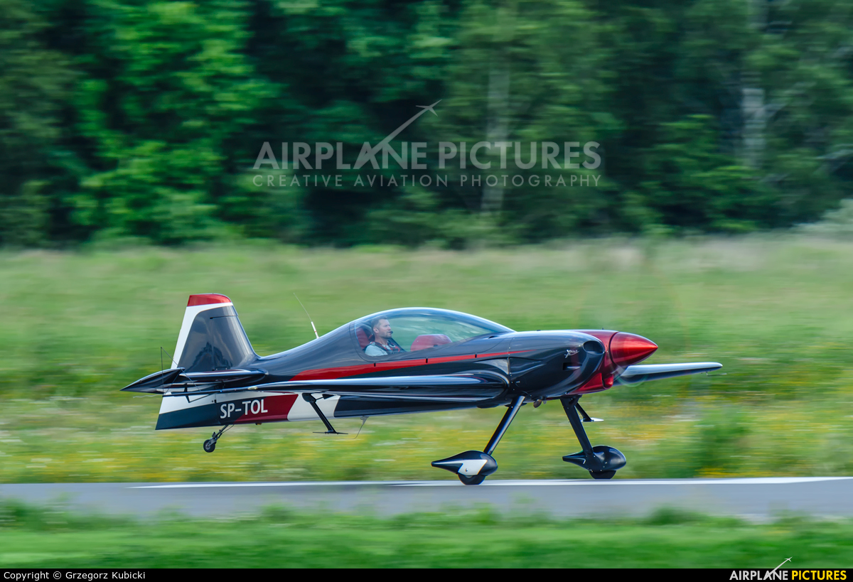 Private SP-TOL aircraft at Katowice Muchowiec