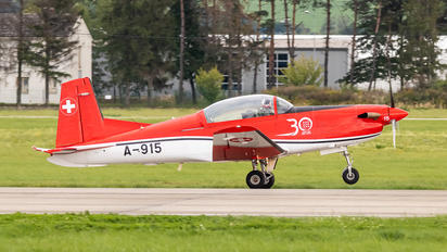 A-915 - Switzerland - Air Force Pilatus PC-7 I & II