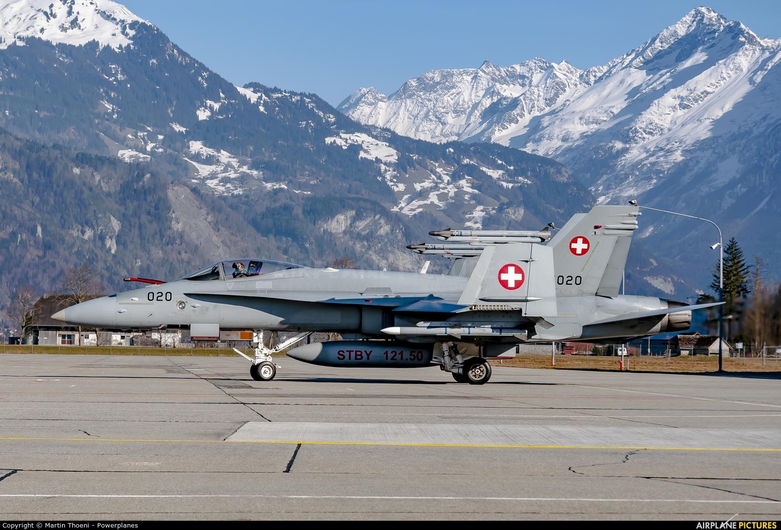 Switzerland - Air Force J-5020 aircraft at Meiringen