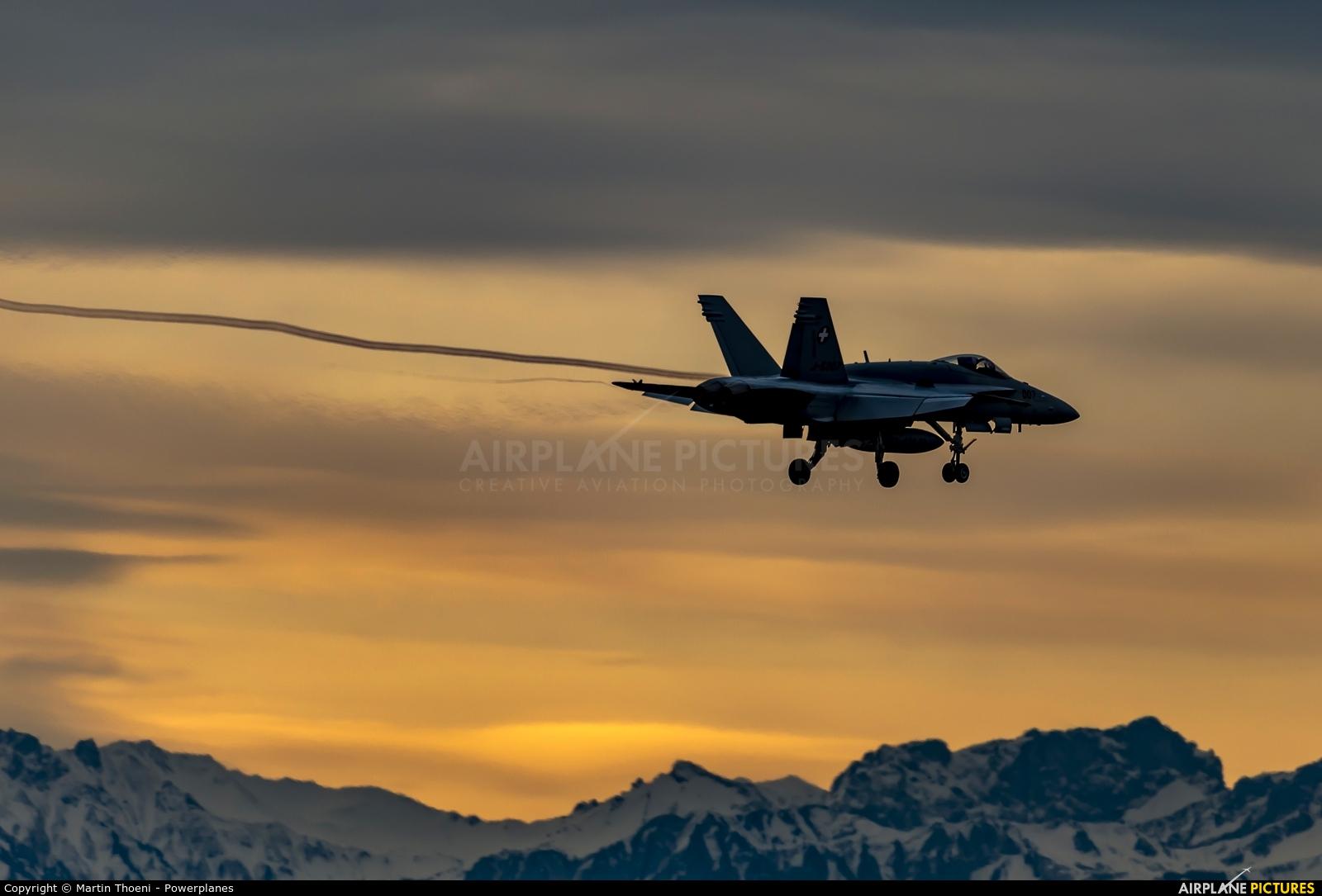 Switzerland - Air Force J-5007 aircraft at Payerne