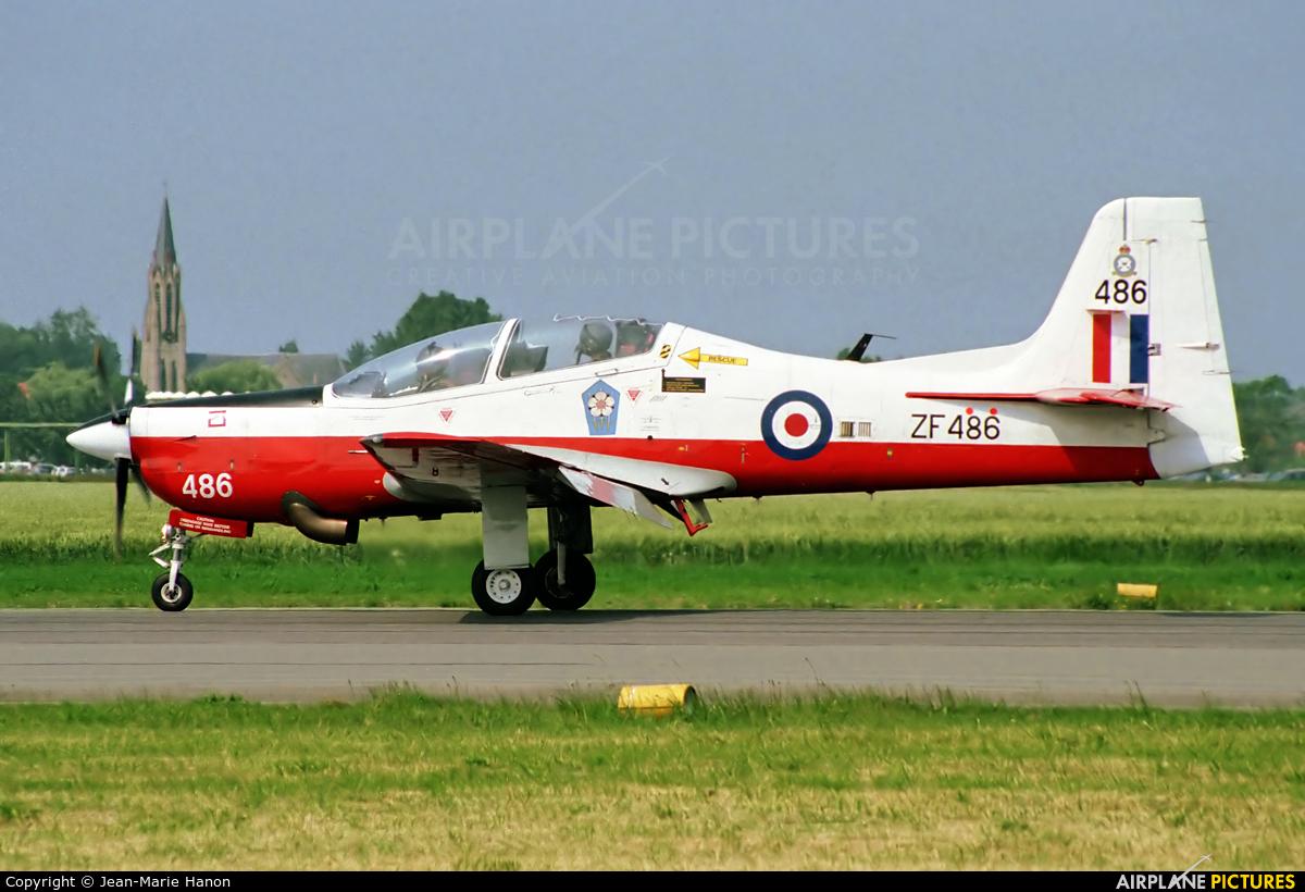 Royal Air Force ZF486 aircraft at Koksijde