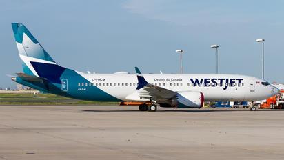 C-FHCM - WestJet Airlines Boeing 737-8 MAX