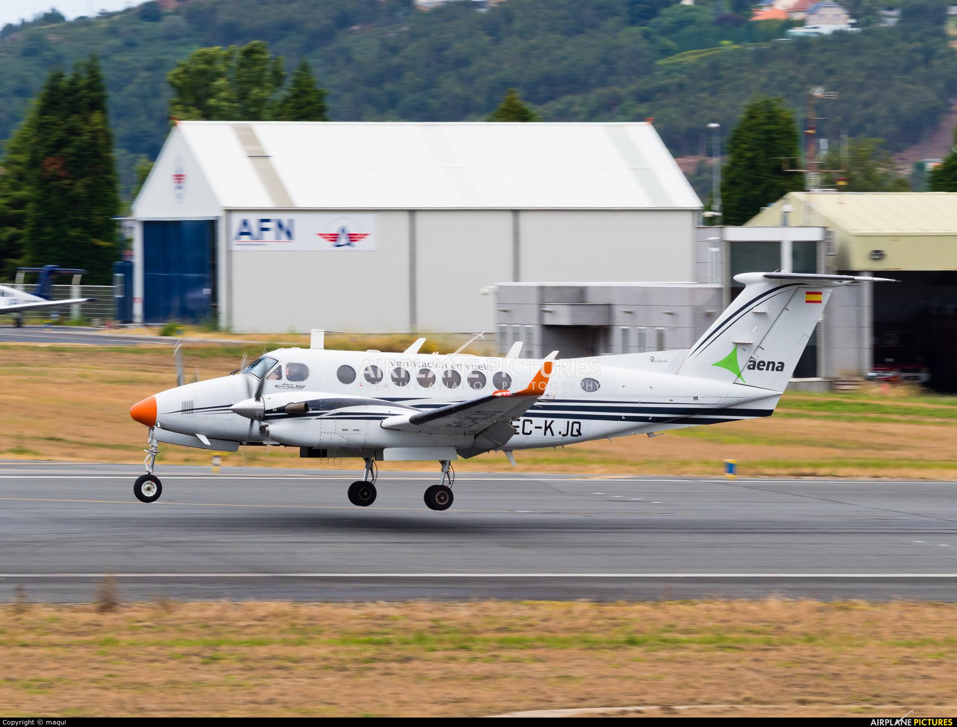 SENASA EC-KJQ aircraft at La Coruña