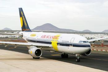 G-SWJW - Air Scandic Airbus A300