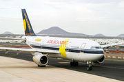G-SWJW - Air Scandic Airbus A300 aircraft