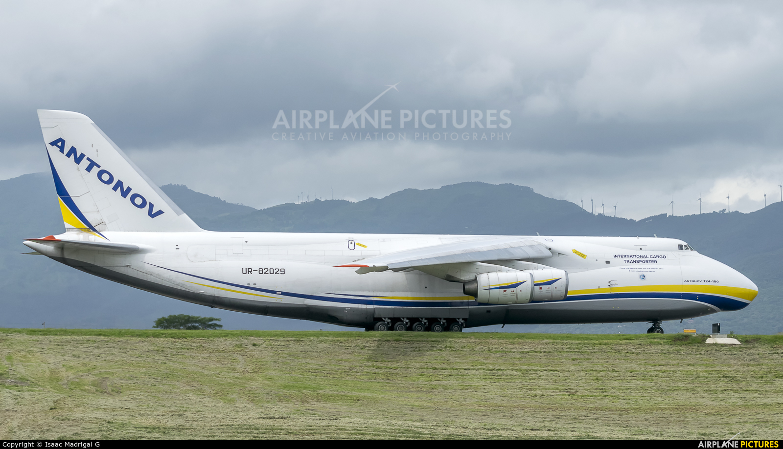 Antonov Airlines /  Design Bureau UR-82029 aircraft at San Jose - Juan Santamaría Intl