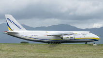 Antonov An124 brought medical support to San Jose title=