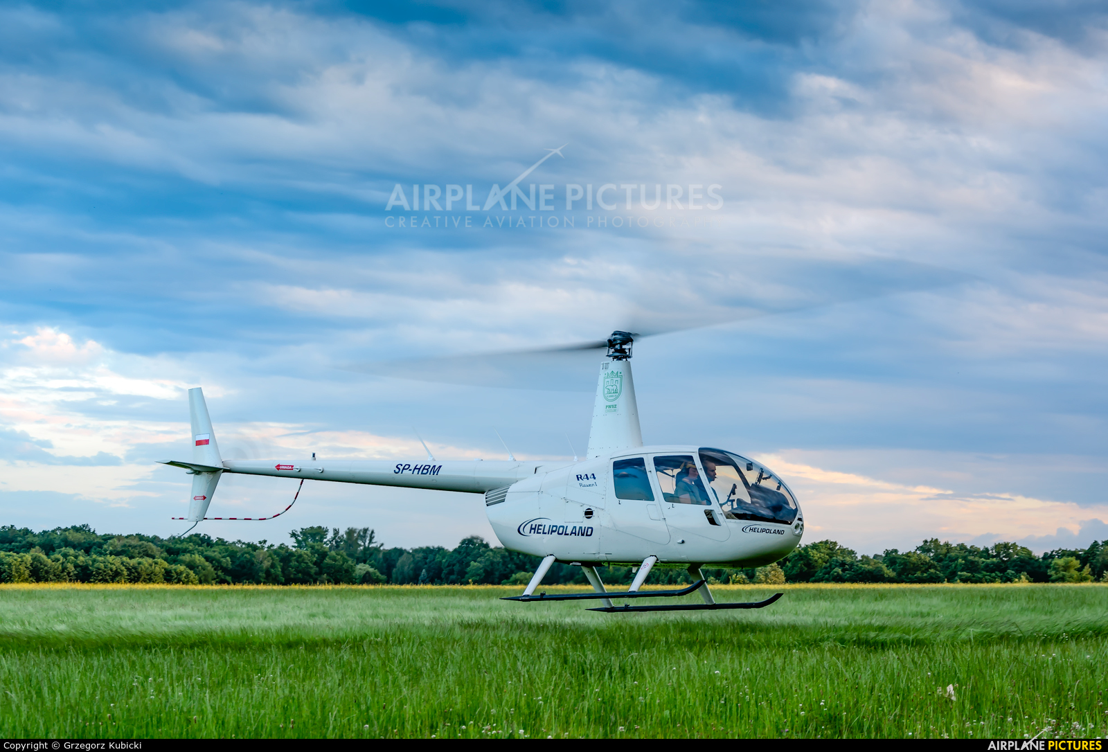 Helipoland SP-HBM aircraft at Katowice Muchowiec