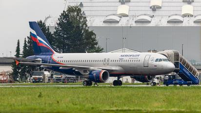 VQ-BHN - Aeroflot Airbus A320