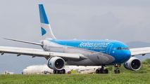 Aerolineas Argentinas A330 at San Jose title=