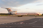 Rare visit of Russian Air Force Tu154 to Vienna title=