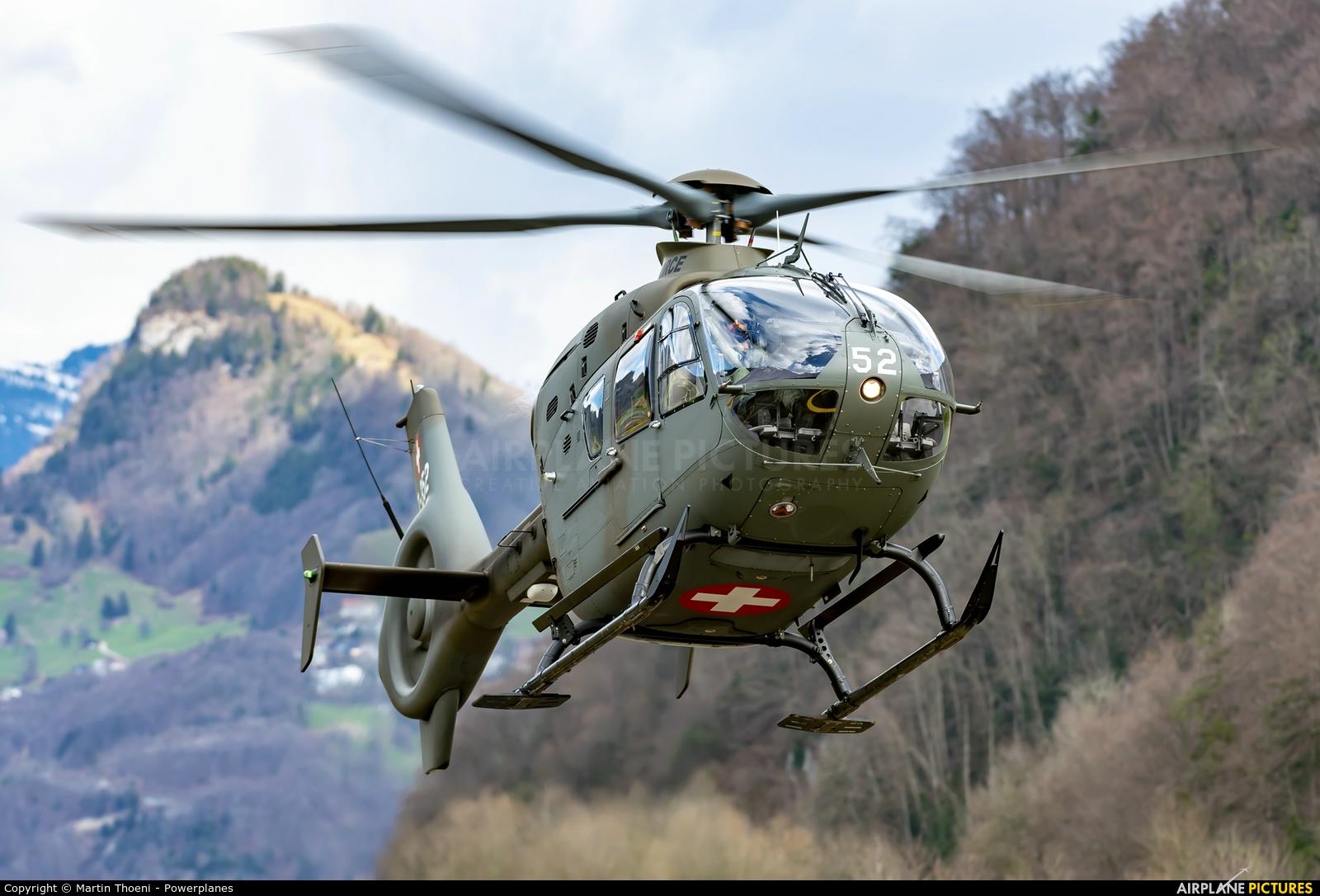 Switzerland - Air Force T-352 aircraft at Alpnach