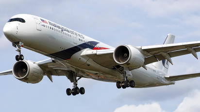 9M-MAD - Malaysia Airlines Airbus A350-900