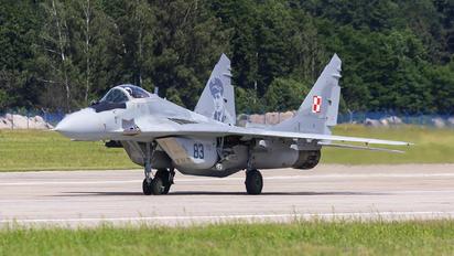 83 - Poland - Air Force Mikoyan-Gurevich MiG-29A