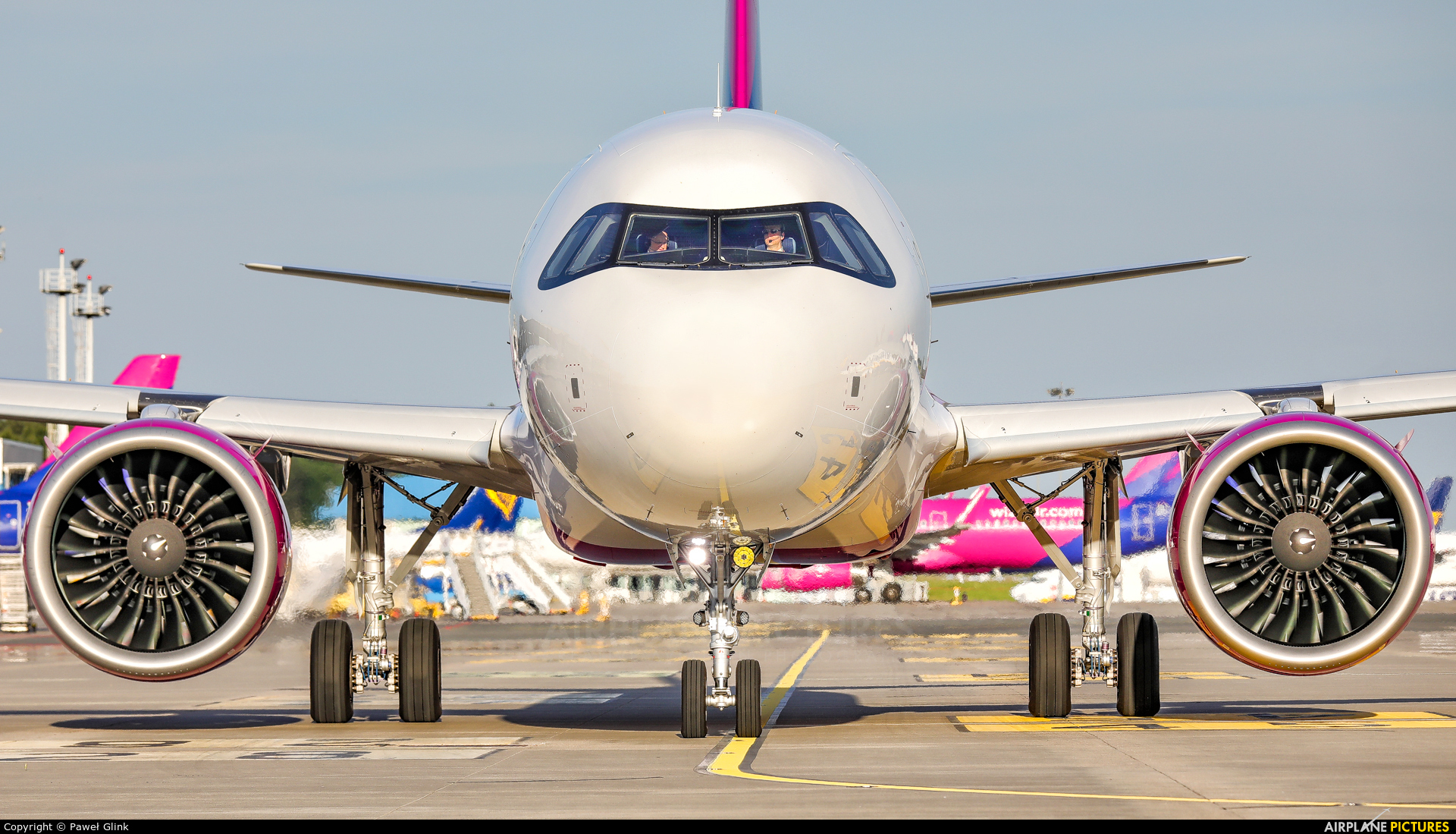 Wizz Air HA-LJA aircraft at Gdańsk - Lech Wałęsa