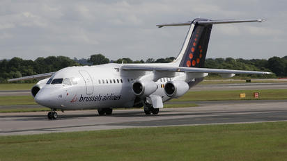 OO-DJW - Brussels Airlines British Aerospace BAe 146-200/Avro RJ85