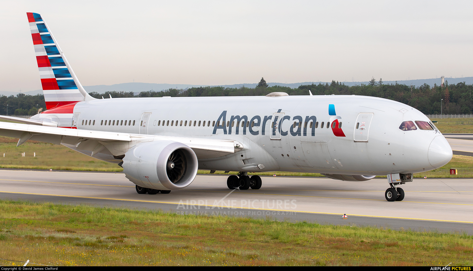 American Airlines N800AN aircraft at Frankfurt
