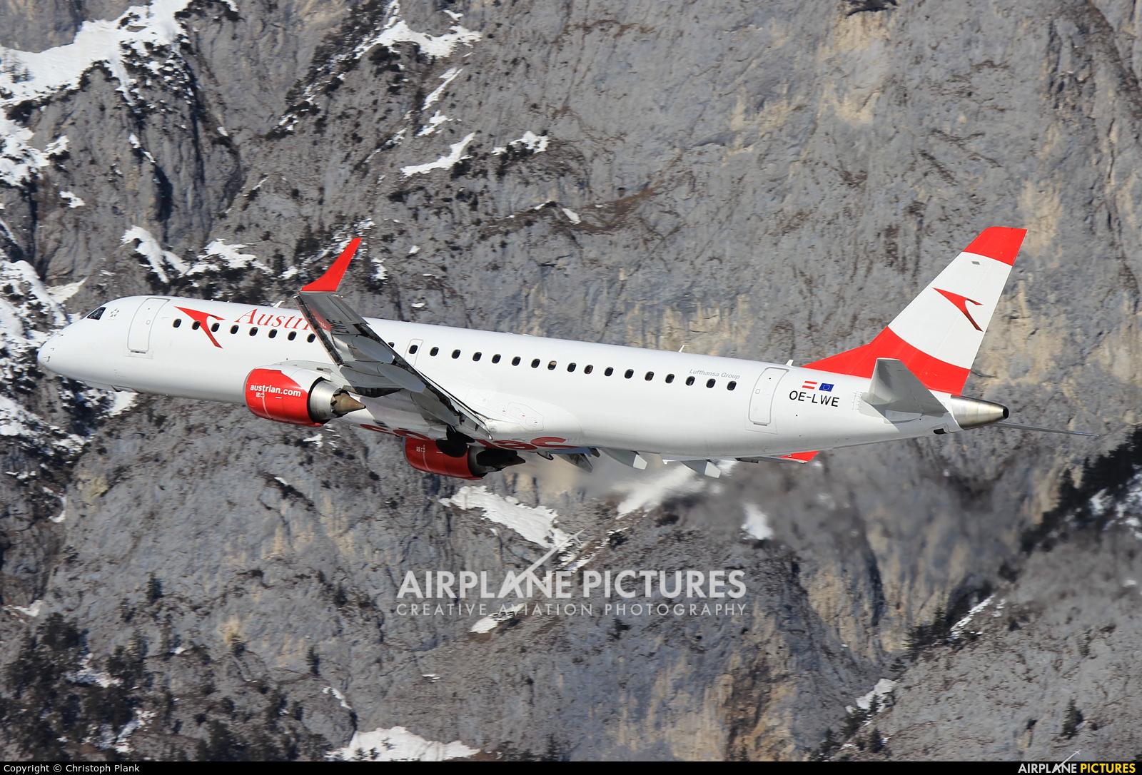 Austrian Airlines/Arrows/Tyrolean OE-LWE aircraft at Innsbruck