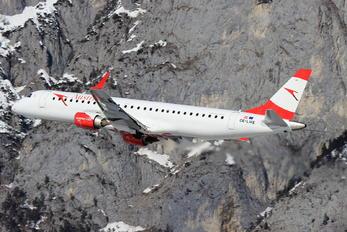 OE-LWE - Austrian Airlines/Arrows/Tyrolean Embraer ERJ-195 (190-200)