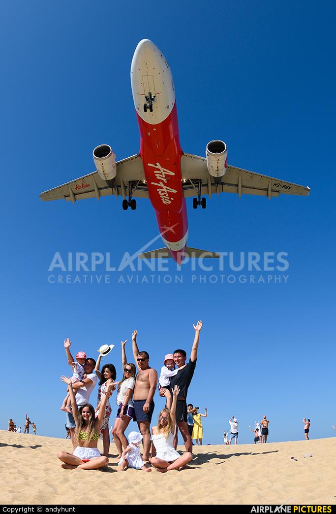 AirAsia (Thailand) HS-BBV aircraft at Phuket