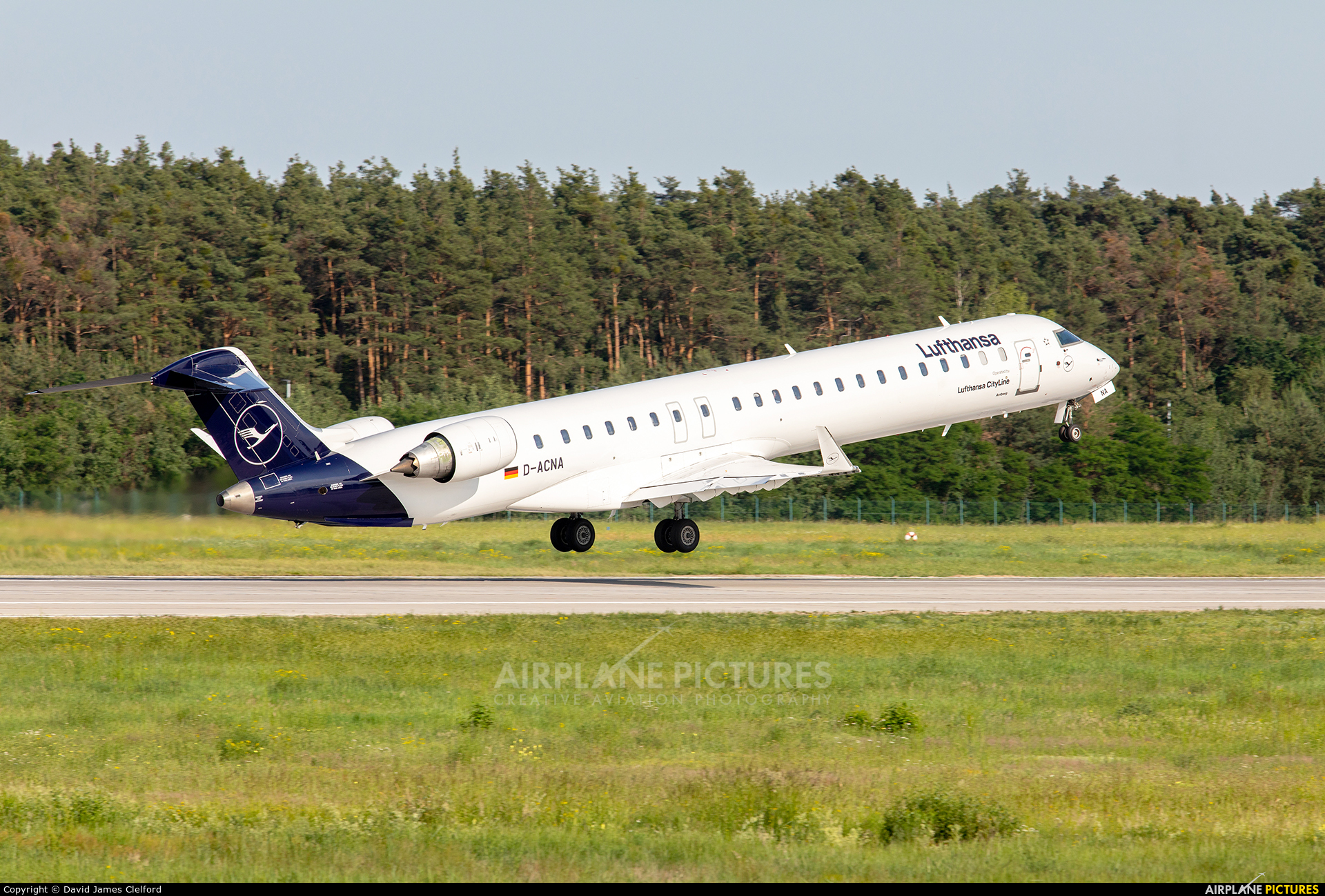 Lufthansa Regional - CityLine D-ACNA aircraft at Frankfurt