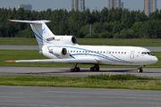Gazpromavia Yak-42 visited St. Petersburg title=